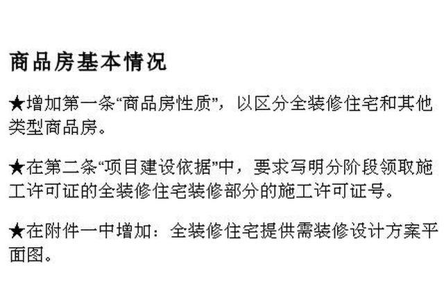 新版浙江商品房买卖合同范本修订 3月15日起正式施行