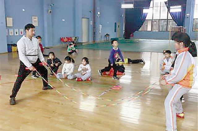 杭州景苑小学新一支花样跳绳队 5月将参加全国赛