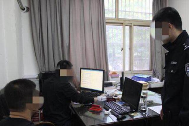 杭州公安交警开展突击整治 打击驾驶证买分卖分行为