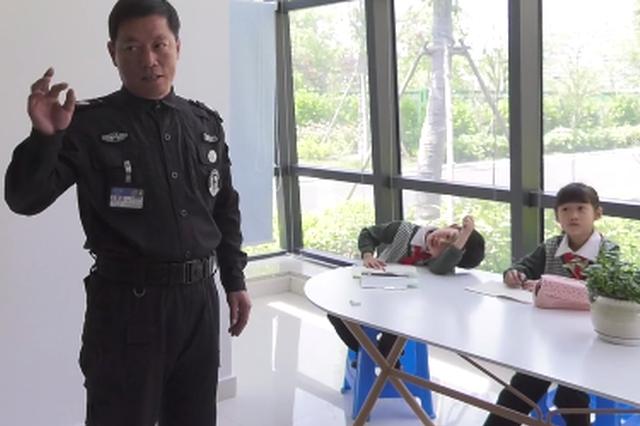 杭州一小学书法课是保安教的