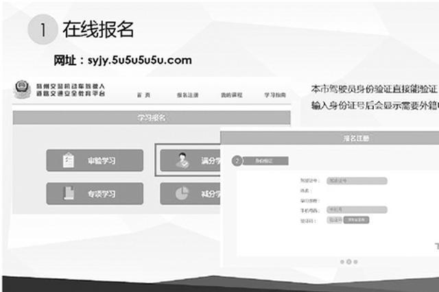 杭州交警推出新模式 扣满12分可进行线上学习