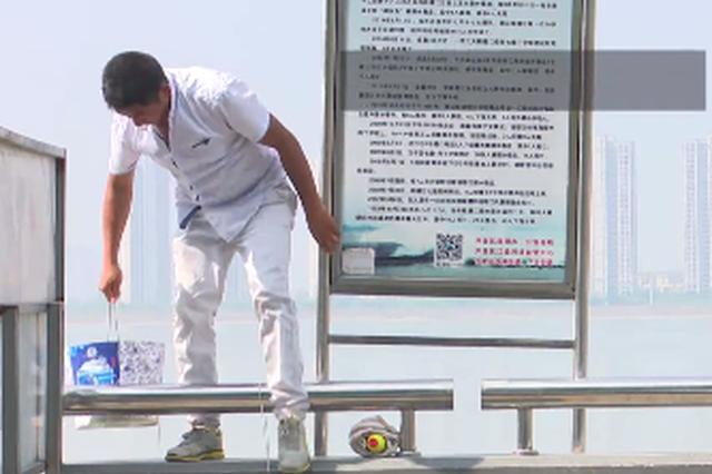 钱塘江丁字坝上钓鱼发生多起危险事件