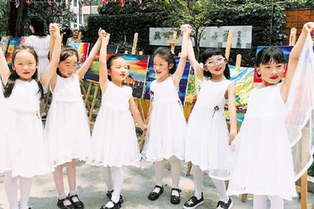 杭州一小学举办花裙子节
