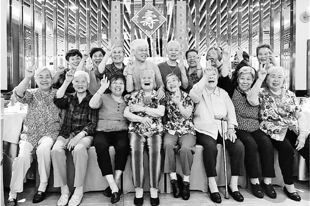 杭州这群闺蜜一起跳操变老 耄耋老闺蜜开百岁生日趴