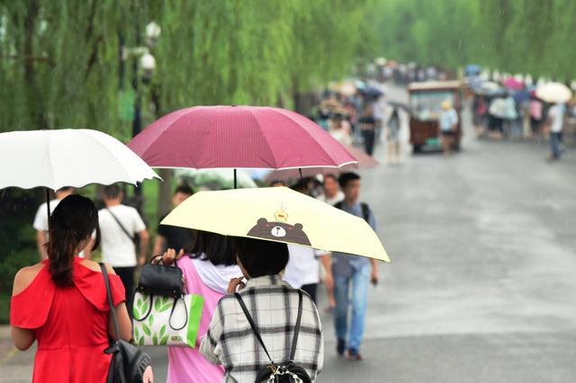 杭州开启新一轮降雨模式 周五之前最高气温30℃以下