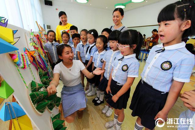 台州快乐幼儿园开展端午传统文化入童心活动