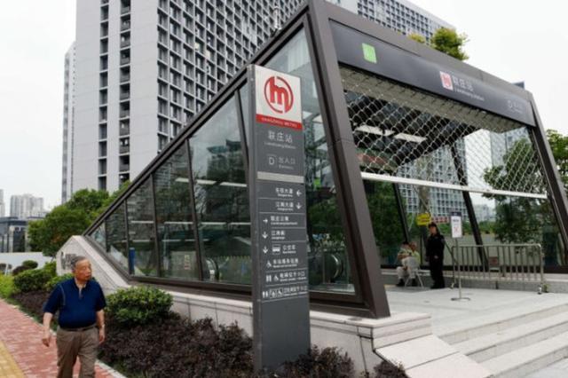 杭州地铁4号线一期的联庄站
