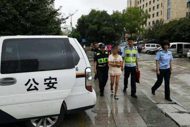 女子到杭州后迷路 民警辗转两天为其找到回家路
