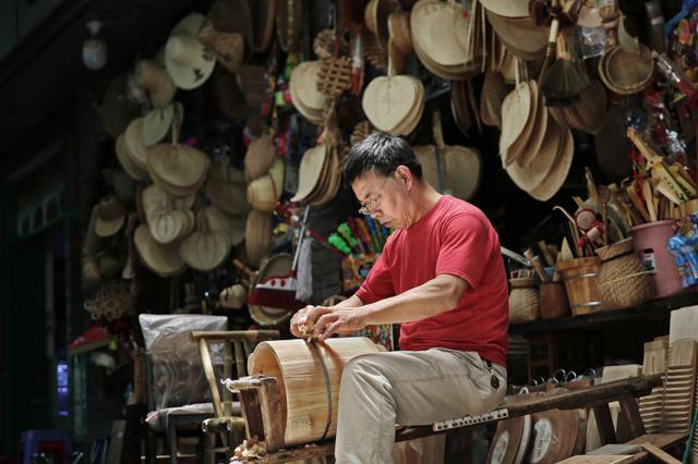 五十年如一日的坚持 杭州最后的箍桶匠