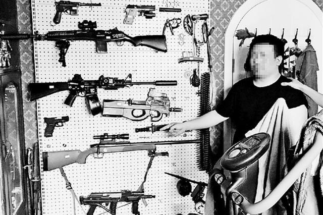 杭州警方铲除多个网络贩枪团伙 买卖过程中用暗语