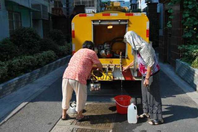 下周杭州莫干山路一带部分地方将停水10小时