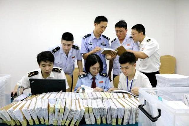 宁波四部门联合 破获8亿元出口服装骗取退税大案