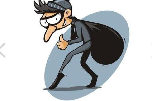 温州两男子在摄像头下实施盗窃 为了钱也为了坐牢