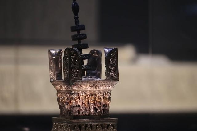 杭州雷峰塔出土稀世塔中塔 是研究阿育王塔的资料