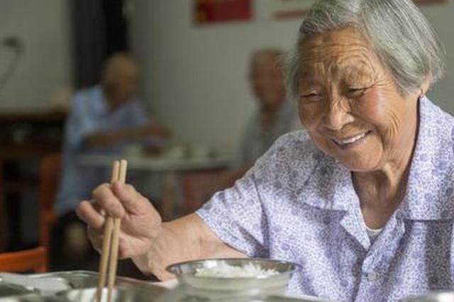 杭州萧山一食堂专为留守老人做饭 2元钱管一天饭