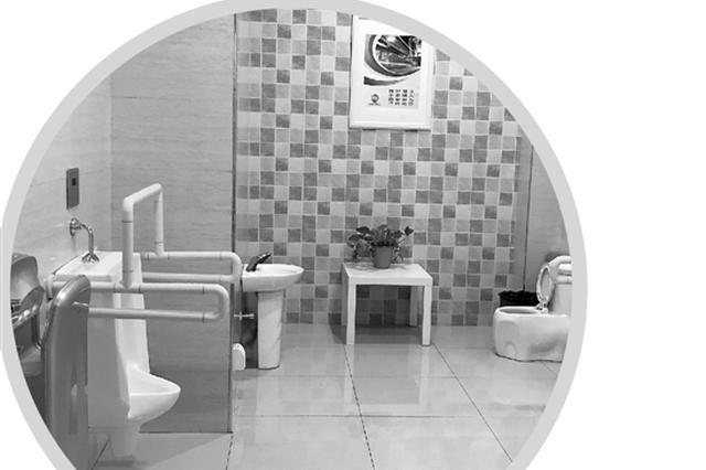 浙江高速服务区厕所提升改造 对标日本的漂亮公厕(图)
