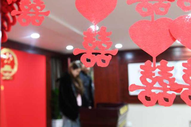 七夕节杭州1625对情侣成夫妻 其中萧山最多