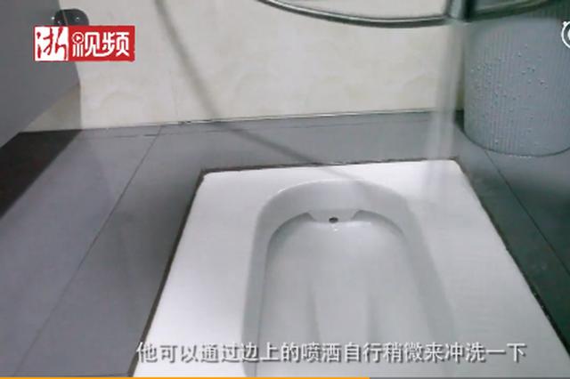 杭州公廁配手持噴槍 這個新式武器你會去用嗎