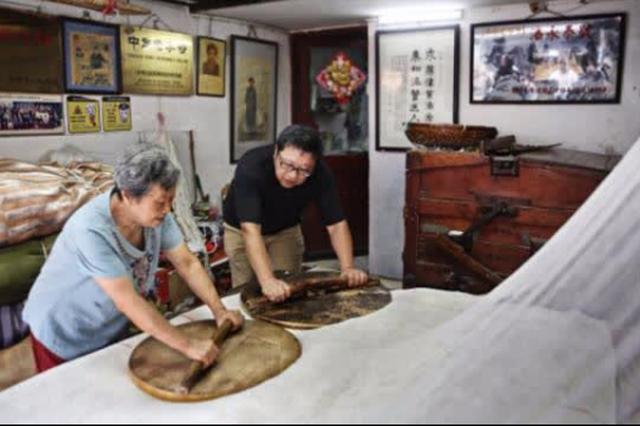 三十二道工序四代人传承 棉花被老店温暖杭州人记忆