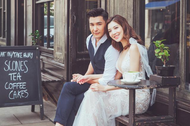 陳展鵬深情宣布結婚迎娶單文柔 婚紗照浪漫唯美