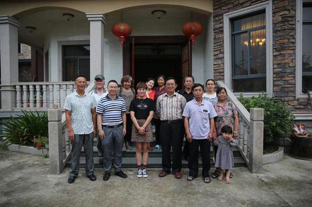 一封家书牵起半个世纪后的重逢 台湾老人杭州寻亲
