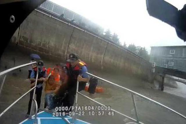 杭州1黄衣女子落水后钱塘江被救起 警方寻找知情人
