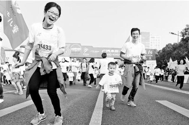 杭州马拉松小惊喜有一大堆 35000人名单已经基本确定