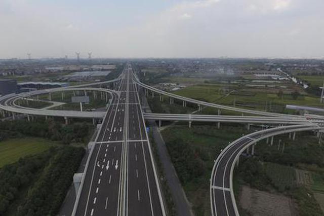 宁波慈溪—余姚高速公路将于16日正式通车(图)