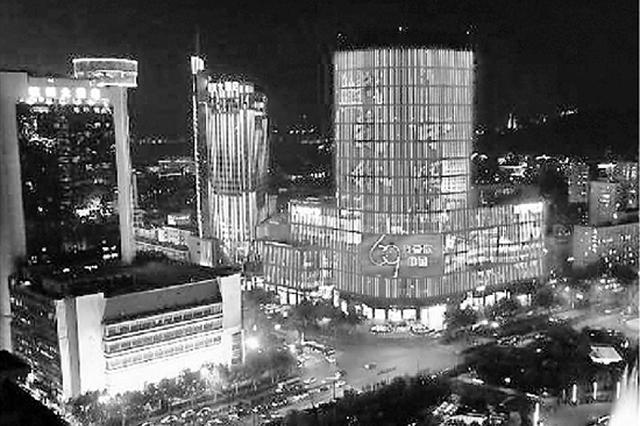 杭州武林商圈將換更景觀亮燈