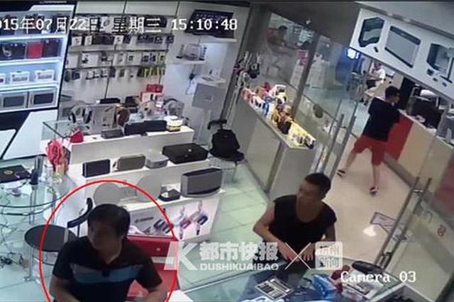 衢州1男子电脑城偷一副耳机 三年后来杭被抓(图)