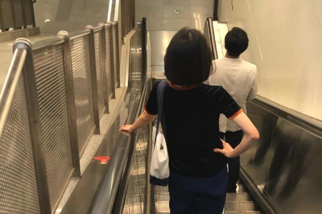 浙江最長扶梯現身 從1樓直達5樓能同時搭乘200多人