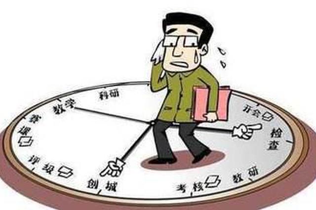 杭拱墅調查了1600多位老師 70%以上老師背負多座大山