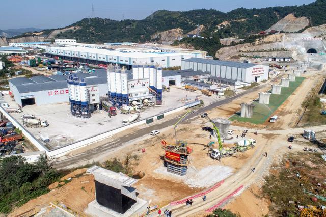杭绍台铁路全线首座桥梁工程主体顺利完工
