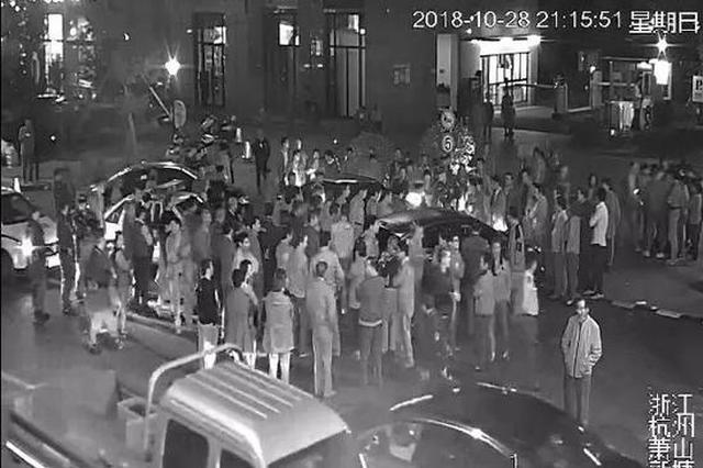 杭州1小区住客不交物业费堵牢地下车库 治安拘留5日