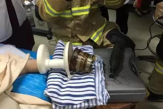 杭州5岁女孩把手伸进榨汁机 医生称可能会有后遗症