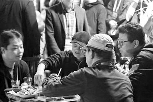 马云丁磊张朝阳张平安 在乌镇围着1张小桌聊起了金庸