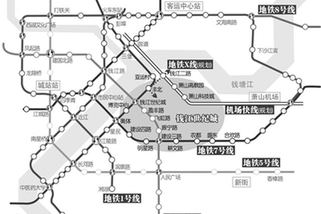 传杭州钱江世纪城建国内首条磁悬浮云轨 设计方回复