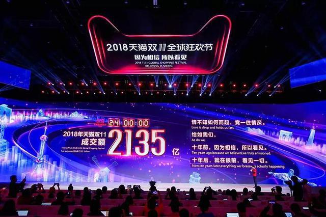 双11全天成交2135亿元 杭州人剁手能力全国第三