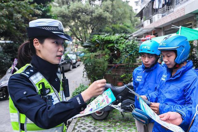 浙江温州:强化骑手上路管理 提升文明骑行意识