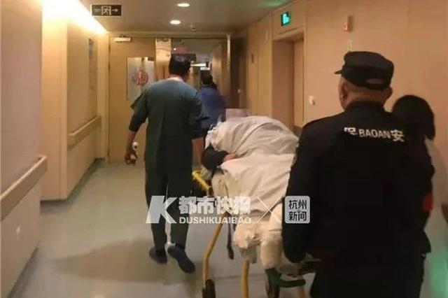 杭州大伯胸闷骑电动车去医院 没想到是急性心肌梗死