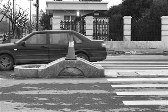 杭州有个水泥墩被称为百慕大 许多车子在这里起飞