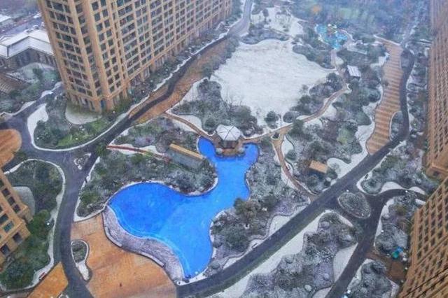 杭州明天中到大雪继续下 积雪预计2到4厘米(图)