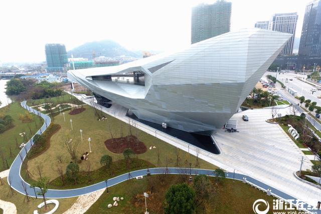巨石迎客 浙江温岭博物馆对外开放