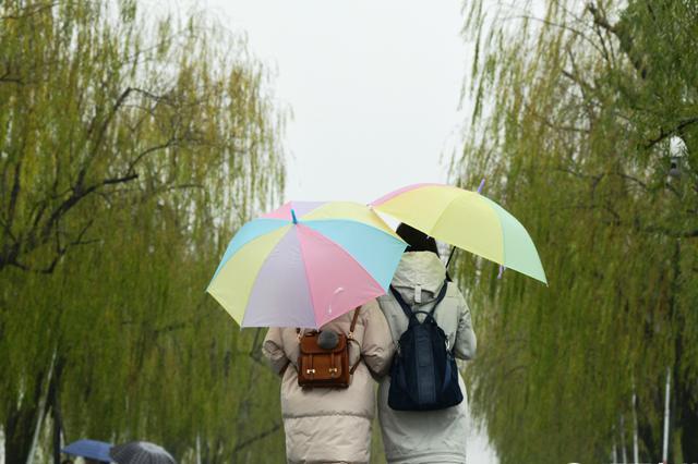 杭州降水不断 阴雨绵绵何时休