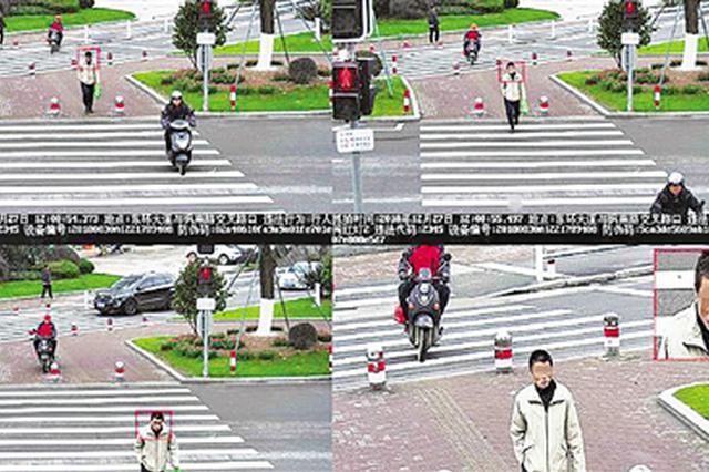 台州上线闯红灯抓拍神器 4米大屏人脸识别抓到就曝光