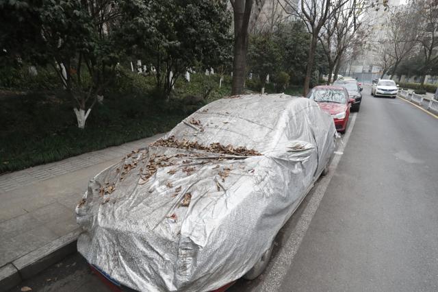 僵尸车霸占路边车位 杭州一路段免费停车惹吐槽