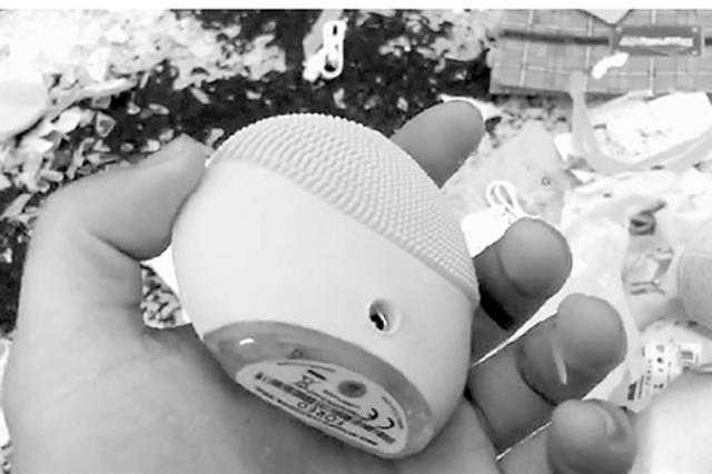 金丽温高速发生车祸 价值十多万知名品牌洗脸仪散落