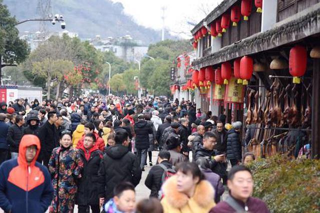 绍兴散发阵阵文旅年味 春节7天旅游收入35.66亿元