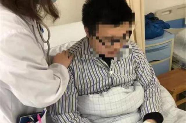 好几天没喝水 杭州小伙胸痛咳血差点进了重症监护室