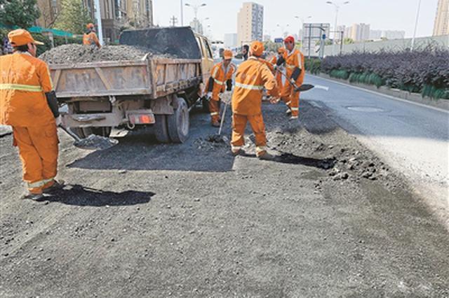 杭州进入道路集中修复期 35条道路4月10日前完工